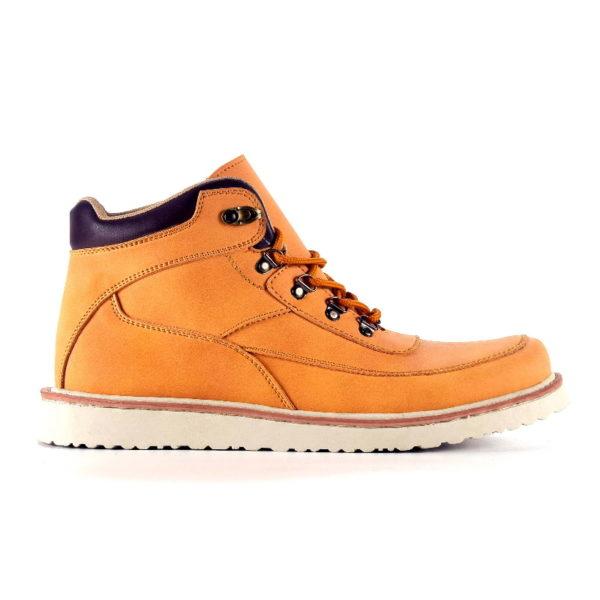 sepatu boots besar becker tan