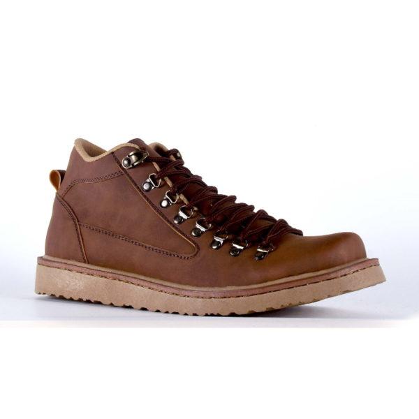 sepatu besar pria boots macher brown