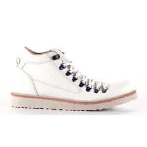 sepatu besar pria boots macher white