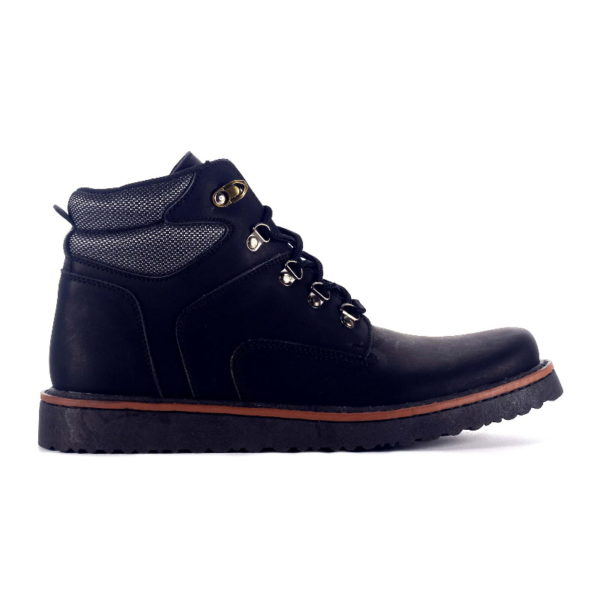 sepatu boots barclay black