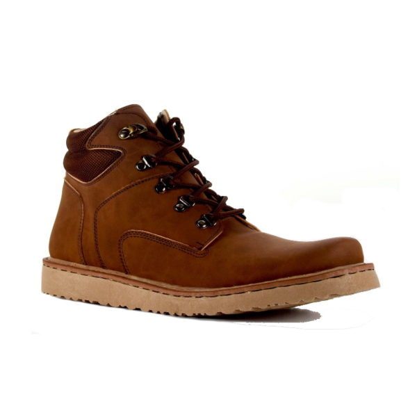 sepatu boots barclay brown