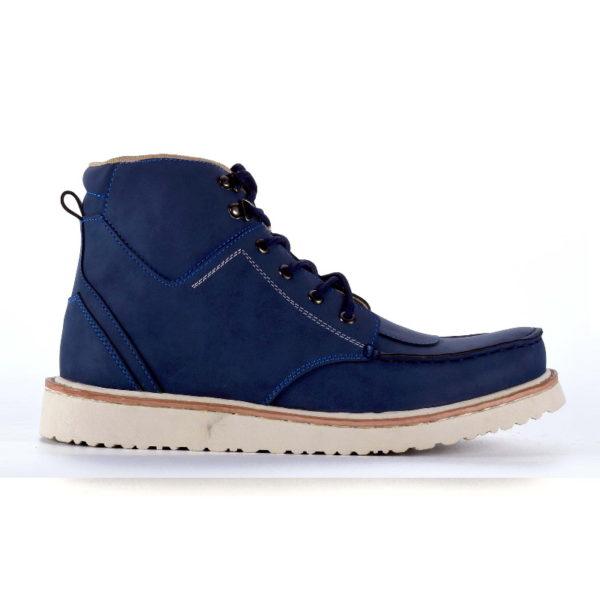 sepatu boots ukuran besar demon navy
