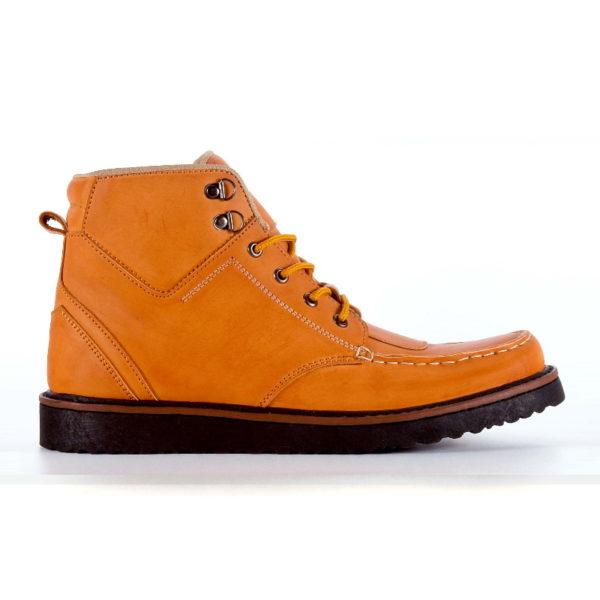 sepatu boots ukuran besar demon tan