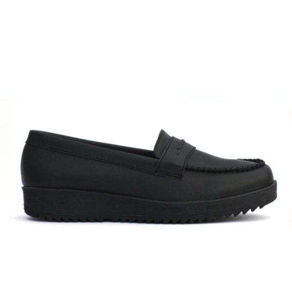 sepatu kerja wanita vinca black