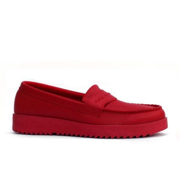 sepatu kerja wanita vinca red
