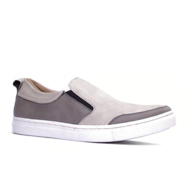 sepatu slipon big size kolibri grey