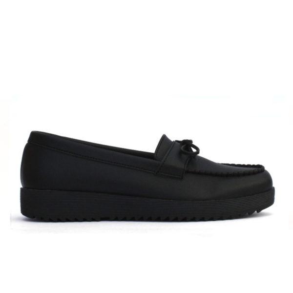 sepatu wanita casual ivy black