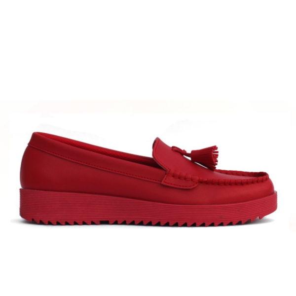 sepatu wanita lily red