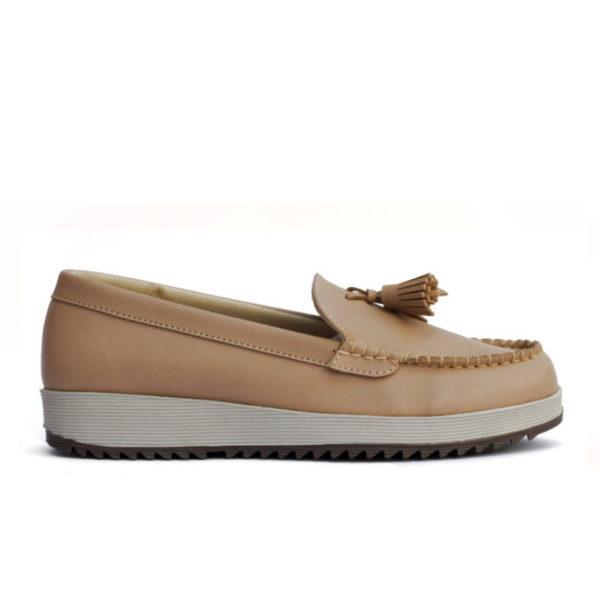 sepatu wanita lily tan
